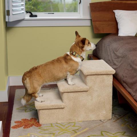 Лесенка для собак своими руками
