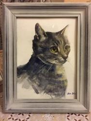 Портрет моей кошки