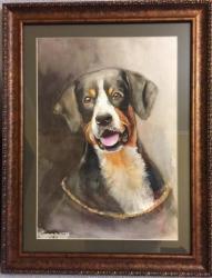 Портрет любимой  собаки