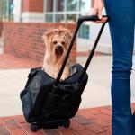 Сумка-переноска на колесах для собак